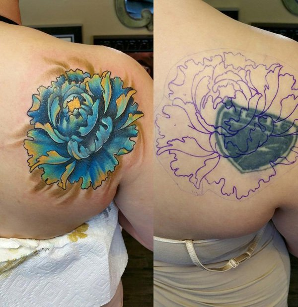 Nice Tattoos By Rodney Ecken berger With Colourful Ink For Man And Woman