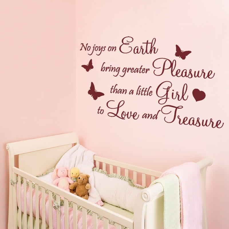No Joys On Earth Bring Grater Pleasure Than A Little Girl To Love And Jreasure