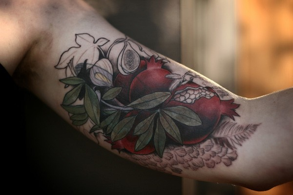 Outstanding Color Tattoo On Arm With Colorful Ink For Man Woman