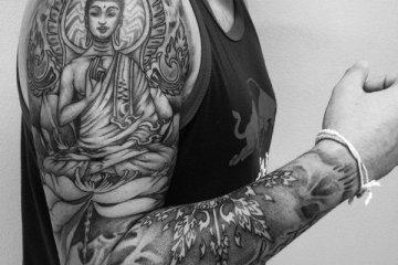 Superb Buddha Tattoo