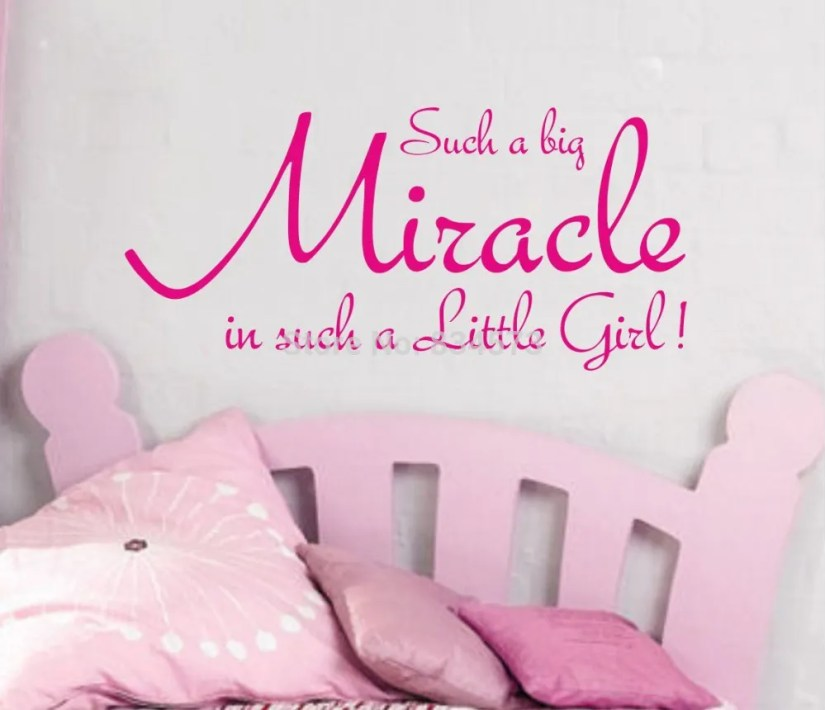 Such A Big Miracle In Such A  Little Girl