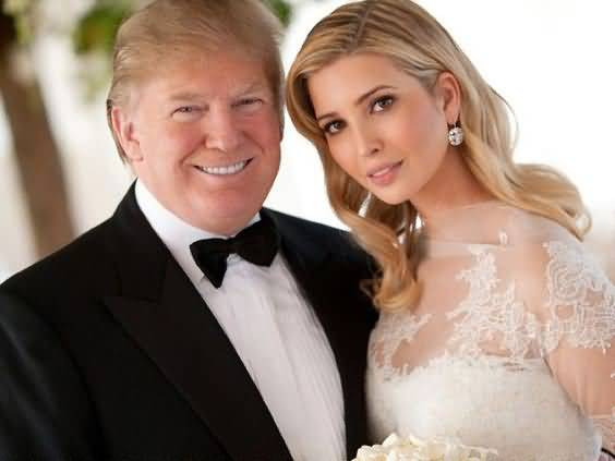 Trump With Daughter Wedding