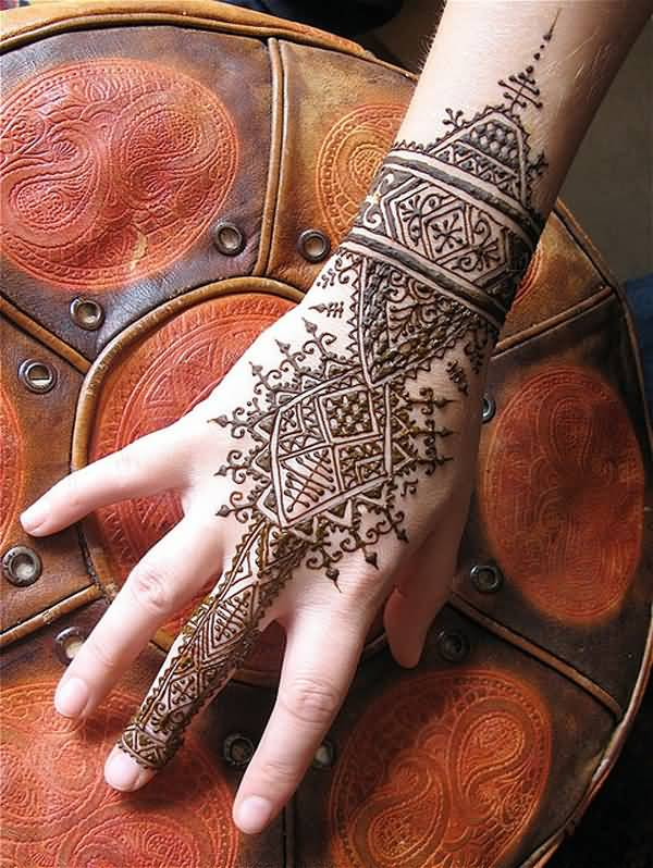Wonderful Henna Temporary Tattoos For Man Woman