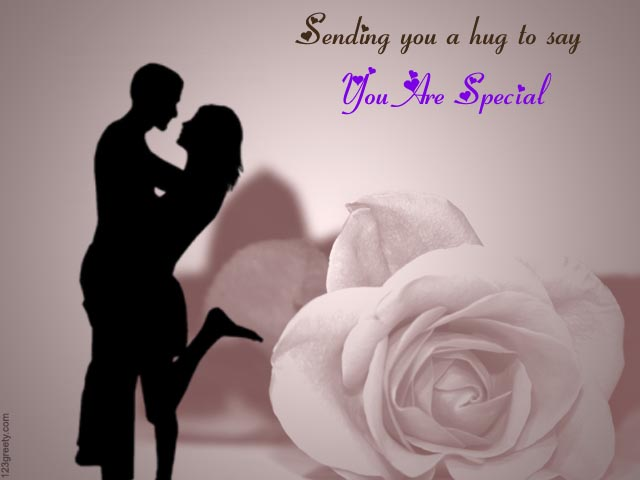 A Special Hug Sending You Are Special