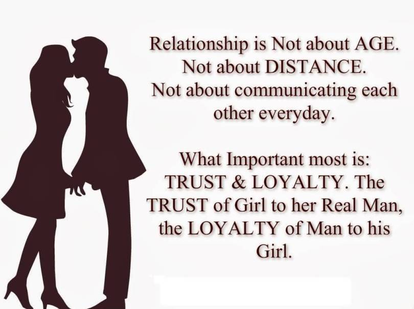 Age Quotes Relationship Is Not About Age. Not About Distance. Not About Communication Each Other Everyday