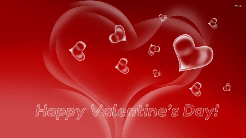 Attractive Happy Valentine Day Wallpaper