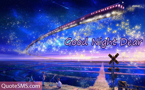 Awesome Good Night Wishes Image