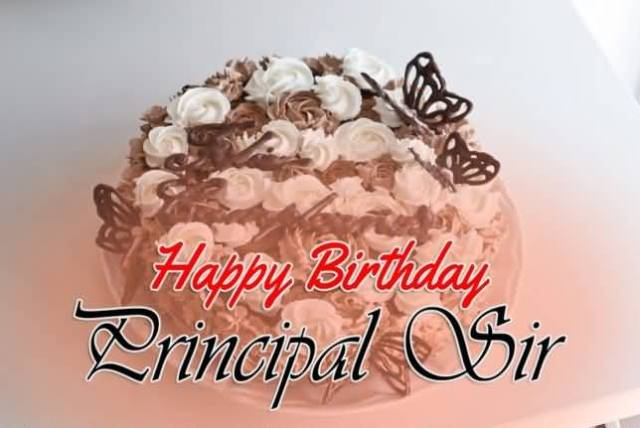 Awesome Greetings For Principal Sir Birthday