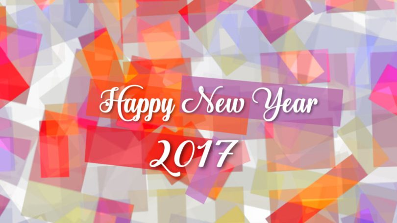 Awesome Happy New Year 2017 Greetings Wallpaper