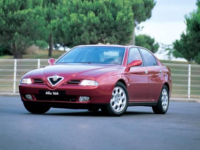 Awesome Red colour Alfa Romeo 166 Car