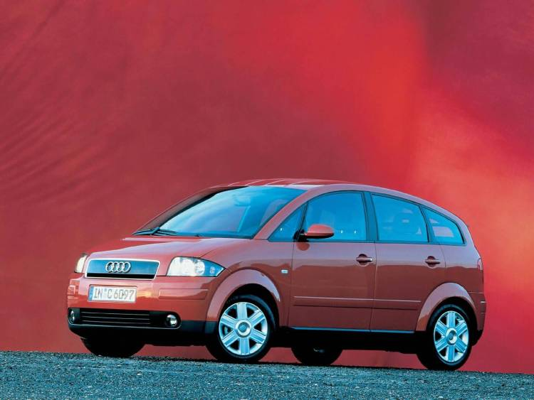 Awesome red color Audi A2 Car
