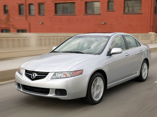 Awesome silver Acura TSX car