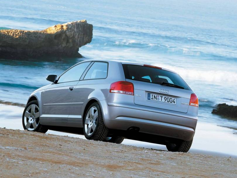 Awesome silver colour Audi A3 Car