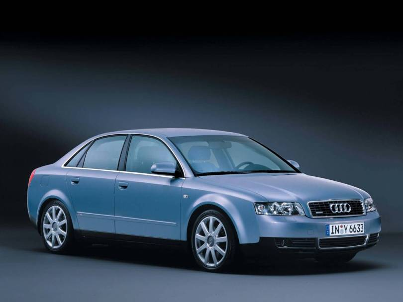 Awesome view of Audi A4 Car