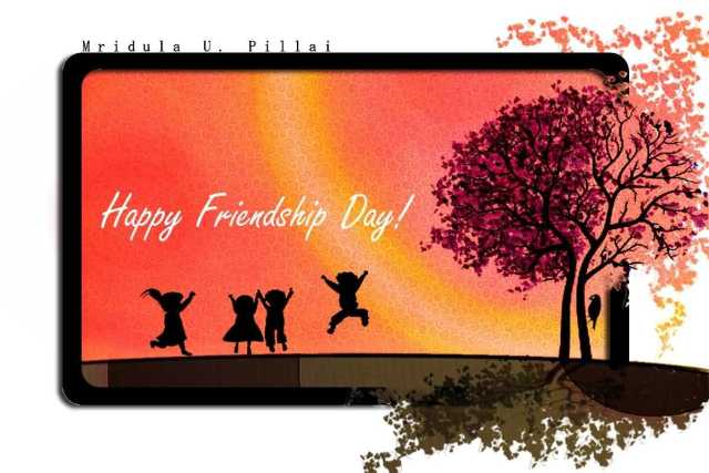 Beautiful Happy Friendship Day Wishes Image