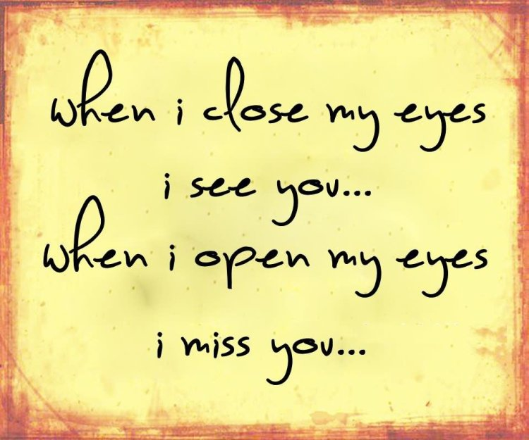 Beautiful I Miss You Quotes Message For Special Person