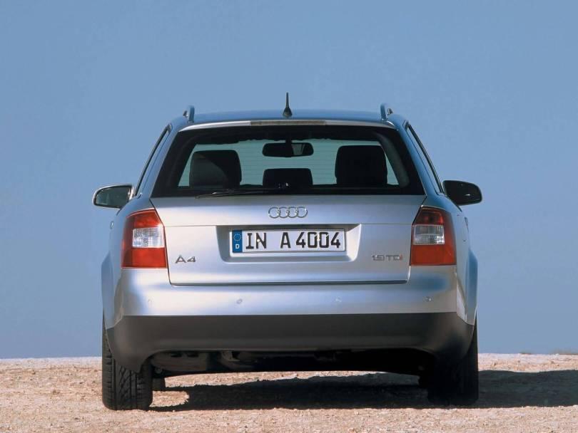 Beautiful back side view Audi A4 Avant Car