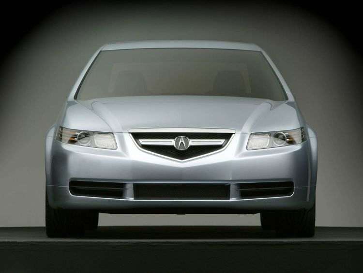 Beautiful front side Acura TL Concept Car