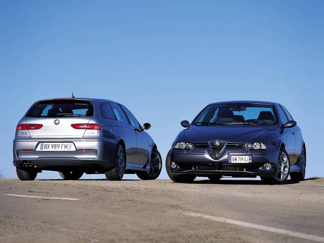 Beautiful two Alfa Romeo 156 GTA Car