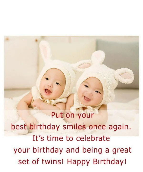 Best Birthday Wishes You Both Greetings Message Image