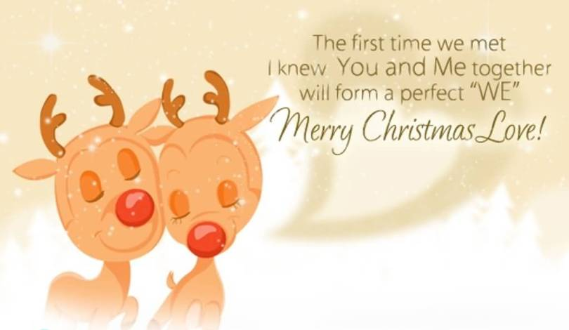 Best Christmas Greeting For Lover
