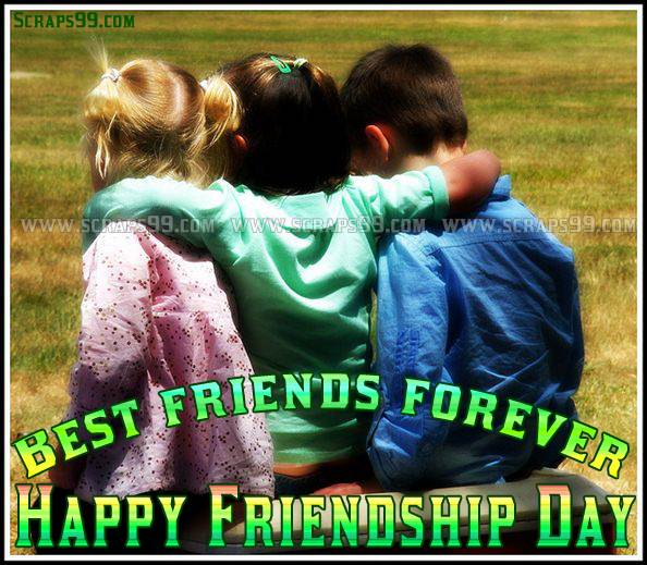 Best Friends Forever Happy Friendship Day Image