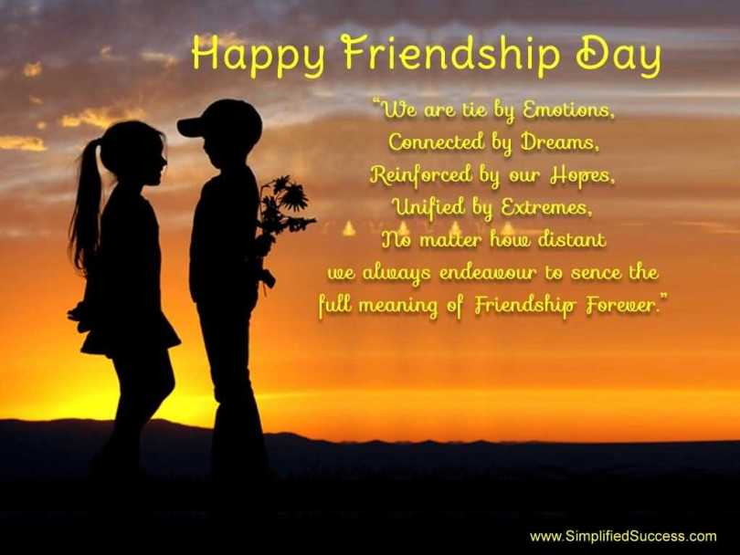 Best Happy Friendship Day Wishes Quotes Image
