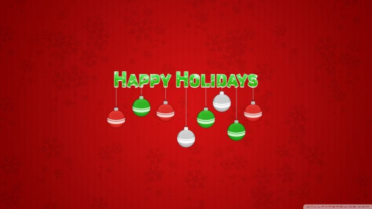 Best Happy Holiday Greetings Wallpaper