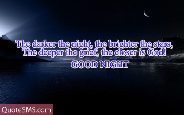 Best Wishes Good Night Message Image