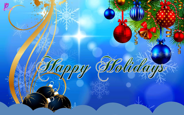 Best Wishes & Greetings Happy Holiday Image
