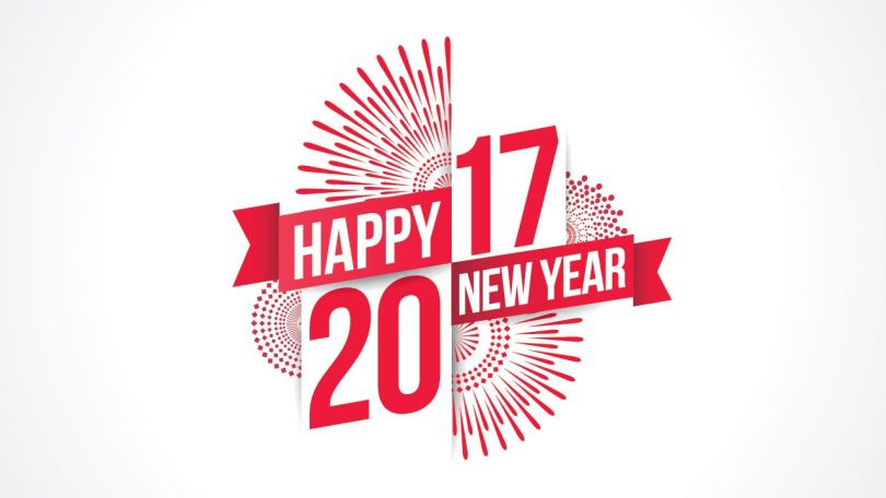 Best Wishes Happy 2017 New Year Image