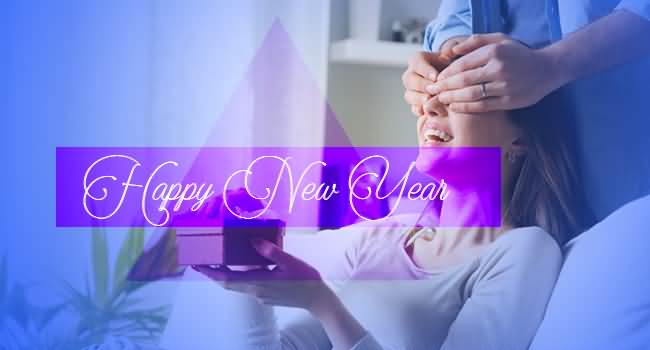 Best Wishes Happy New Year Gift Image