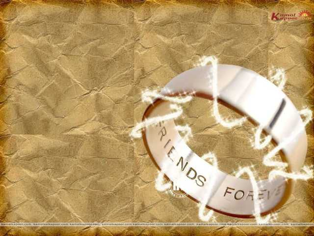 Best Wishes On Happy Friendship Day Ring Image