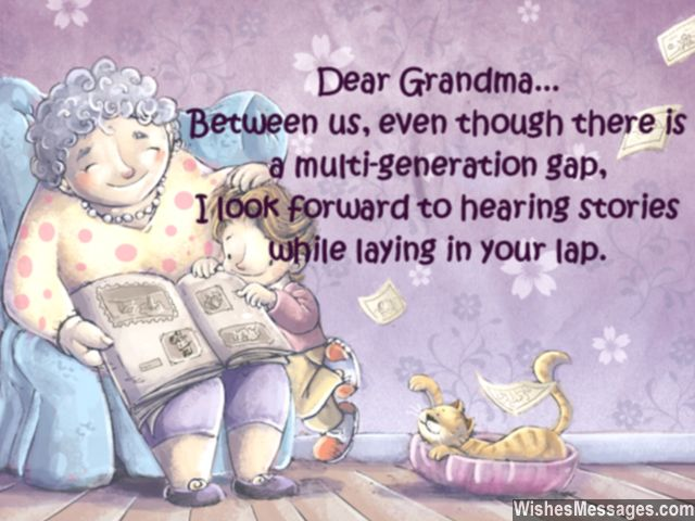 Birthday Poem Wishes For Great Grandmom Image