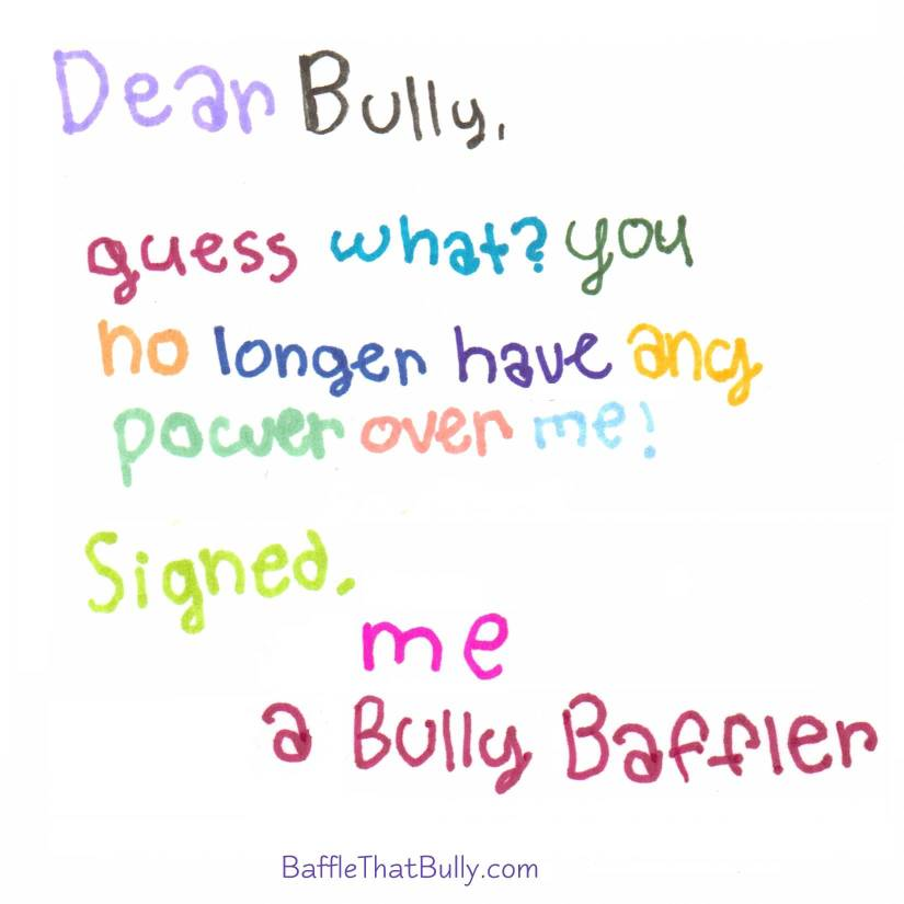 Bullying Quotes Dear bully guess