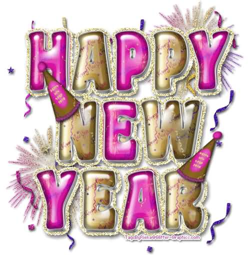 Celebrate Happy New Year Wishes Wallpaper
