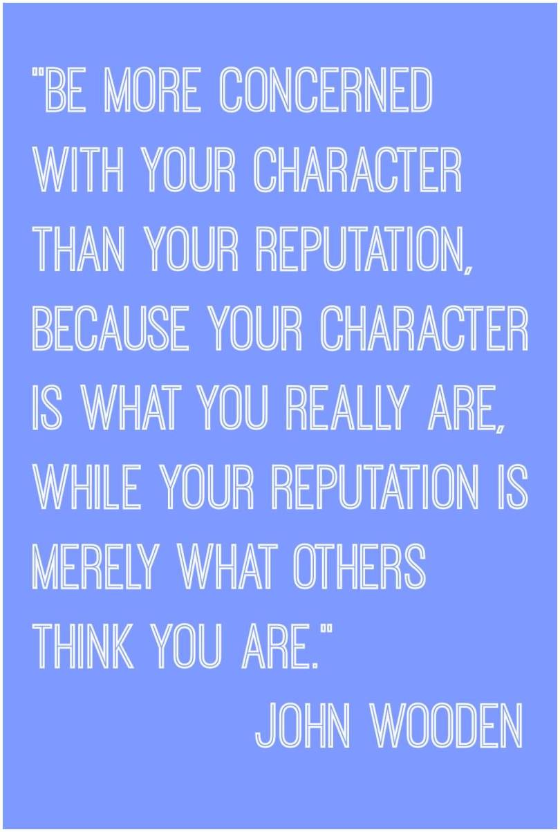 Character Quotes Be More Concerned