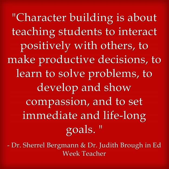 Character Quotes Character Building