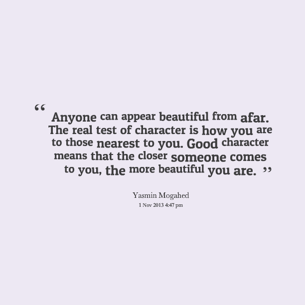 Character Sayings Anyone Can Appear Beautiful
