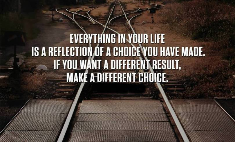 Choice Quotes Everything In Your