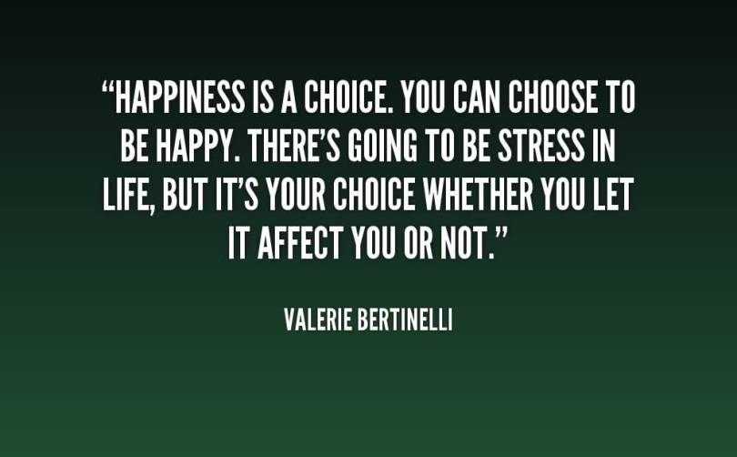 Choice Quotes Happiness Is A Choice
