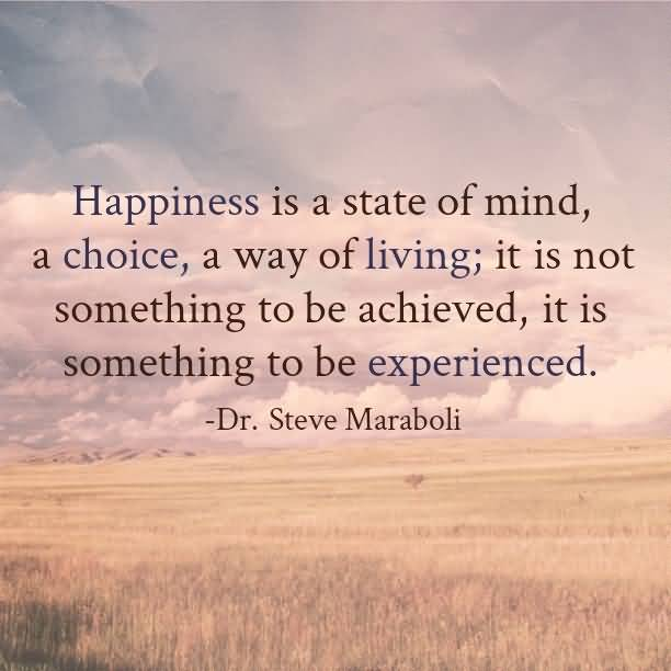 Choice Quotes Happiness Is A State Of
