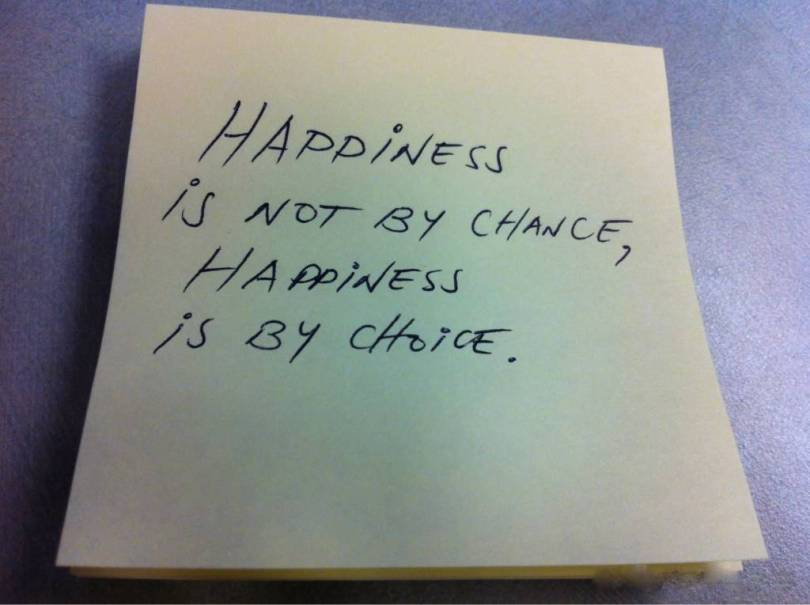 Choice Quotes Happiness Is Not