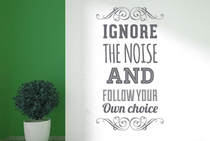 Choice Sayings Ignore
