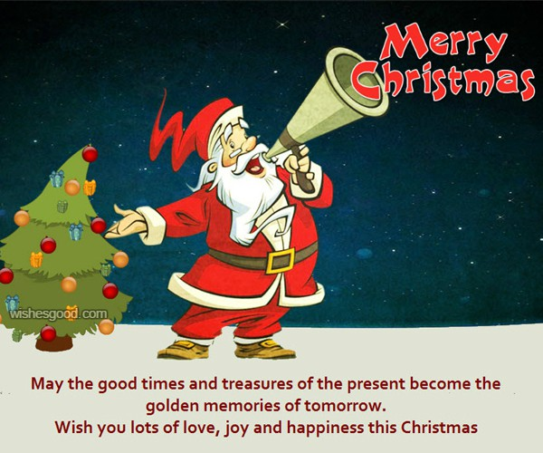 Christmas Wishes Image For Friend