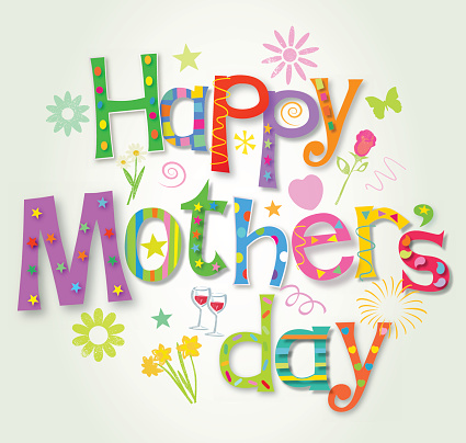 Colorful Card Happy Mothers Day Wishes Image