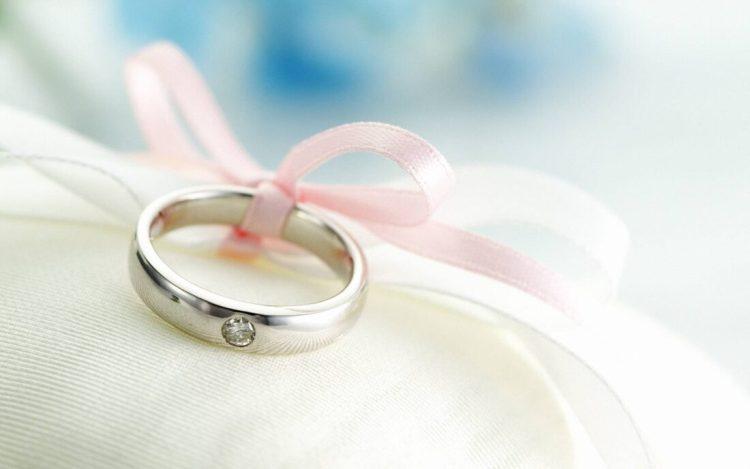 Congratulation Happy Wedding Ring Wallpaper