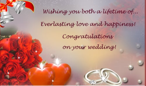 50 Best Happy Wedding Wishes, Greetings And Images | Picsmine