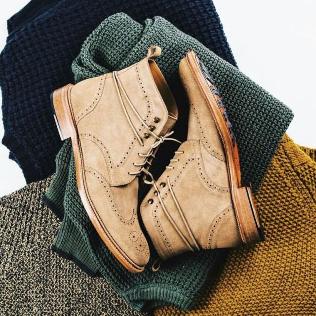 Cool Casual Brown High Neck Shoe For Men