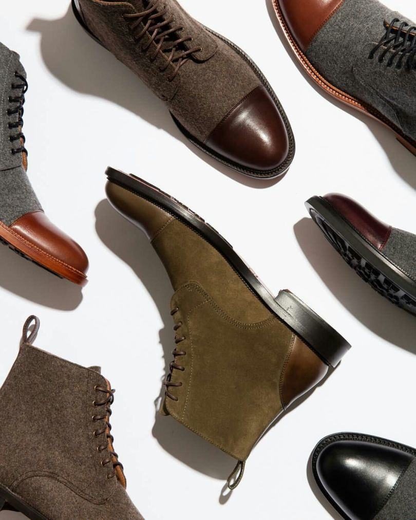 Coolest Highneck Leather Shoe Collection For This Winter